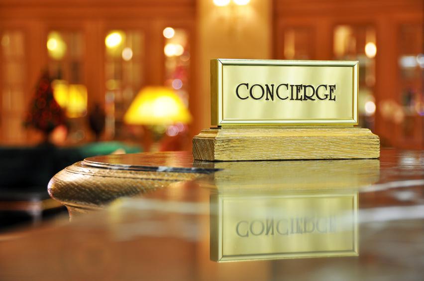 Concierge desk #1