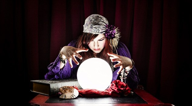psychic or a clairvoyant
